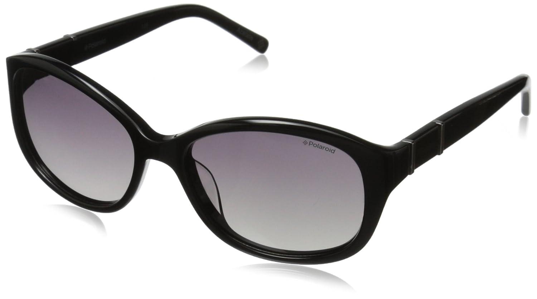 405438cc44ea Amazon.com  Polaroid Sunglasses Women s Pld4019s Oval Sunglasses ...