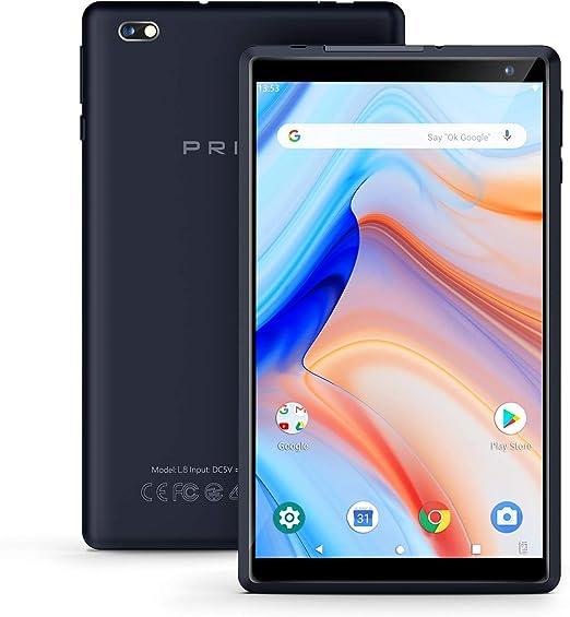 Android Tablet Pritom 8 Pulgadas Android 9.0 OS Tablet, 2GB RAM ...