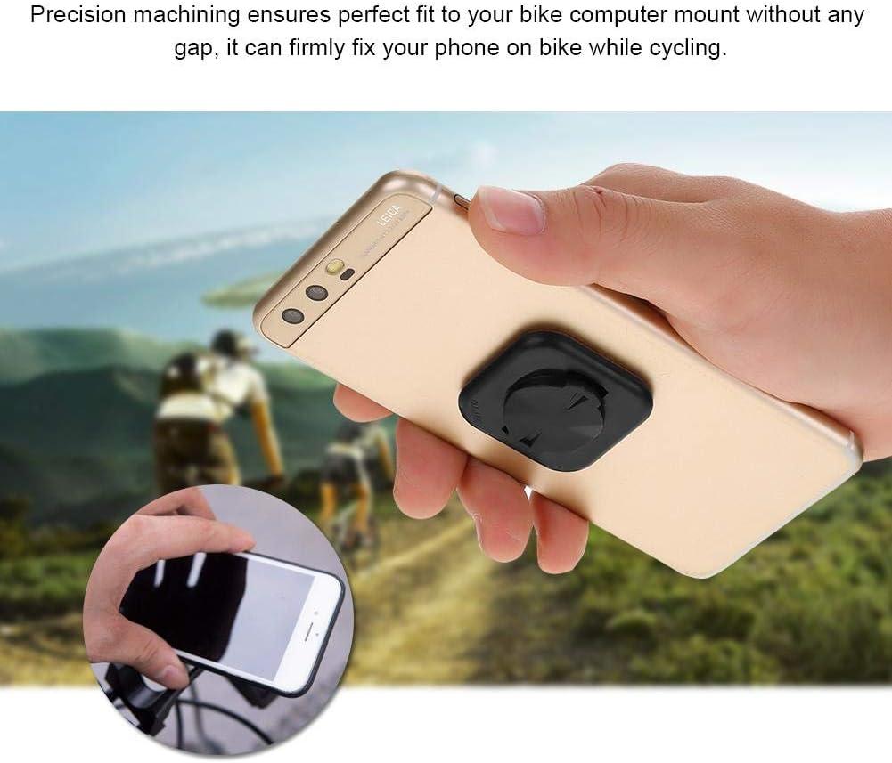 Fafeims Bicicleta Adhesivo para tel/éfono m/óvil Antideslizante Soporte de Palo Redondo para Garmin Accesorio de Ciclismo para computadora