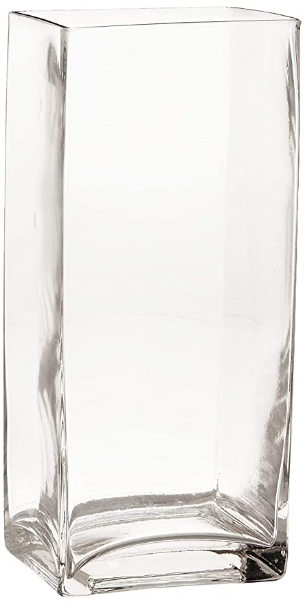 Amazon.com Rectangle Clear Glass Square Vase Home Decor and Table Centerpieces Glass Vase (11.8\u0027\u0027H x 3.9\u0027\u0027W) Home \u0026 Kitchen  sc 1 st  Amazon.com & Amazon.com: Rectangle Clear Glass Square Vase Home Decor and Table ...