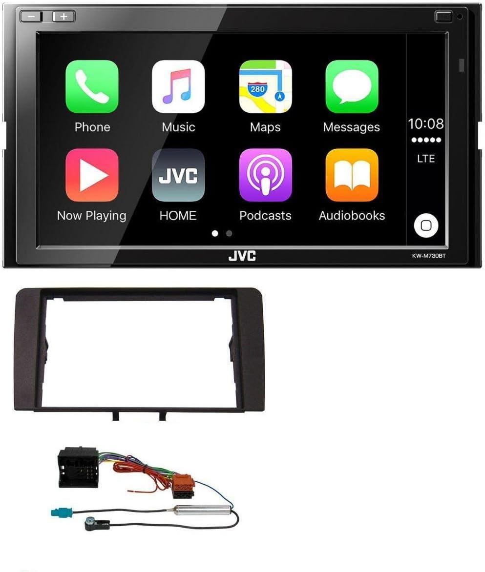 JVC AUX 2DIN USB MP3 Bluetooth Autoradio für Audi A3 03-12 8P Quadlock