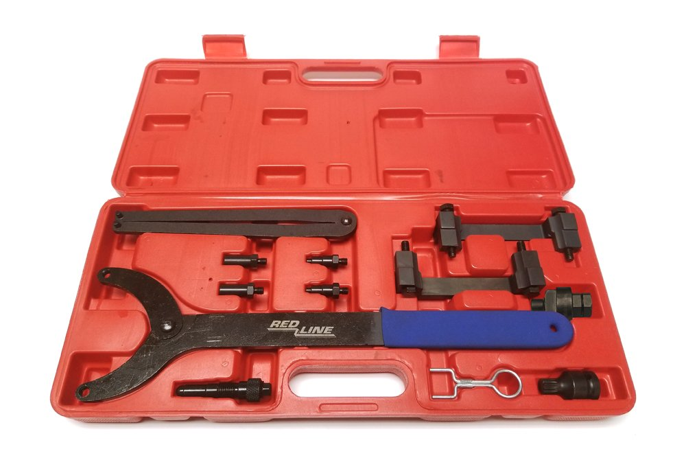 Red Line Auto Tools RLT40070KIT Volkswagen and Audi 3.2 V6 & 2.5 5 cyl Timing Tool Kit by Red Line Auto Tools (Image #1)