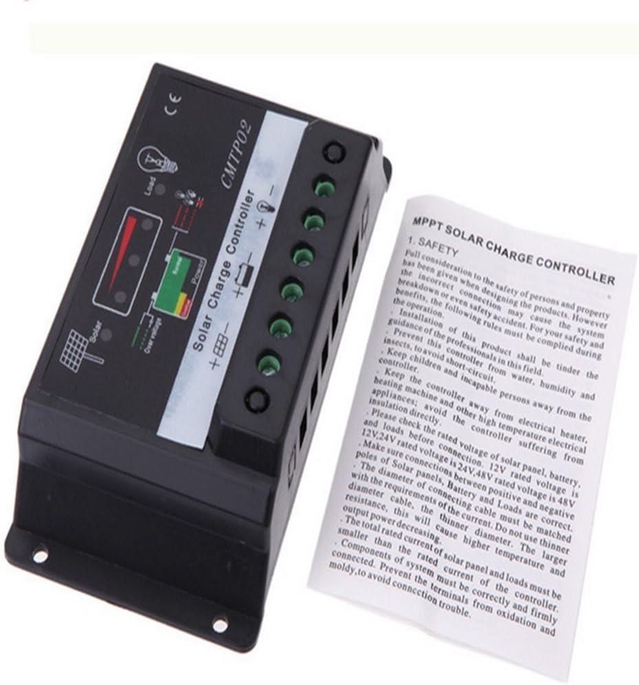 10-30 A 12V//24V Panneau Solaire Charge Batterie du contrôleur Régulateur Safe Protection