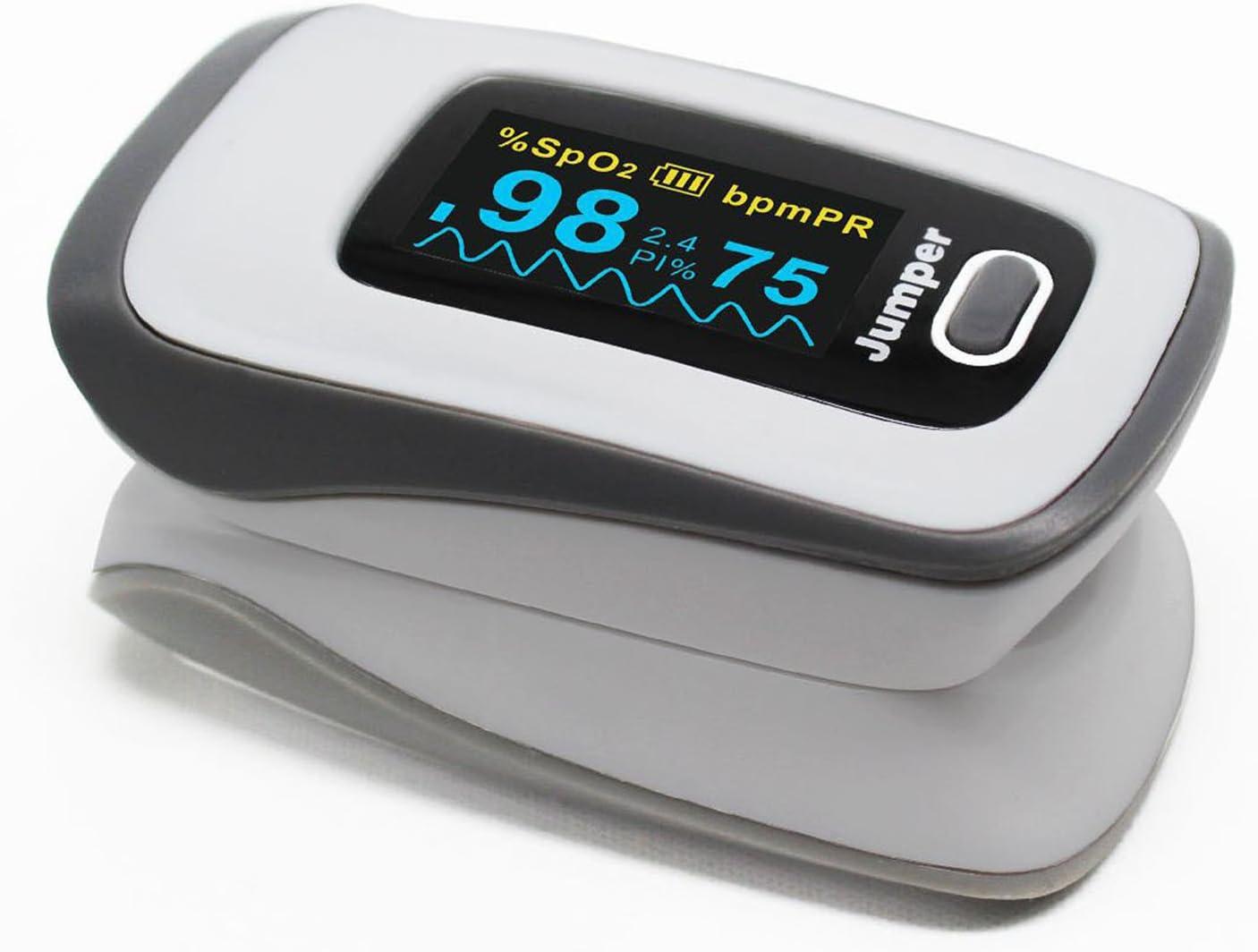 SpO2 PR PI Ossimetro,Ossimetro da Dito Professionale,OLED Saturimetro per la Famiglia Roeam Ritioner Pulsossimetro da Dito