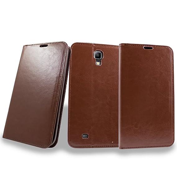 purchase cheap 4e4cc b7ae5 Galaxy Mega 6.3 Case, Samsung Galaxy Mega 6.3 Wallet Case, Wrist Strap  Folio [Kickstand Feature] Pu Leather Wallet Case with ID Credit Card Slot  ...