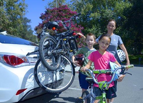 Allen Sports Premier 3-Bike Trunk Rack by Allen Sports (Image #9)