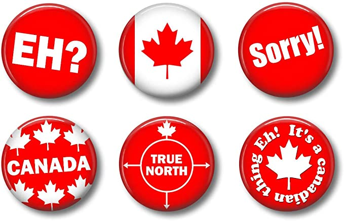Canadian Themed Magnets