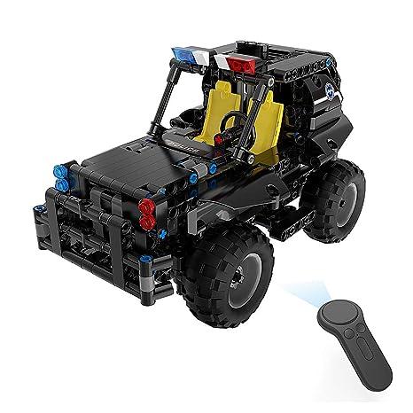 Amazon com: Goolsky BB13005 336PCS DIY Armed Patrol Car 2 4G