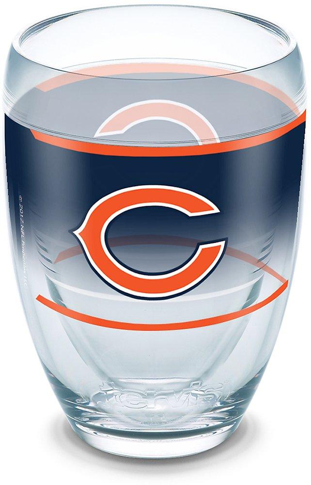 Tervis 1292924 NFL Chicago Bears Original Tumbler 9 oz Clear