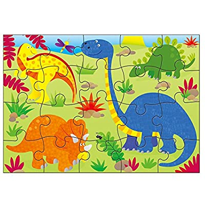 4 Puzzles in A Box-Dinosaurs: Toys & Games