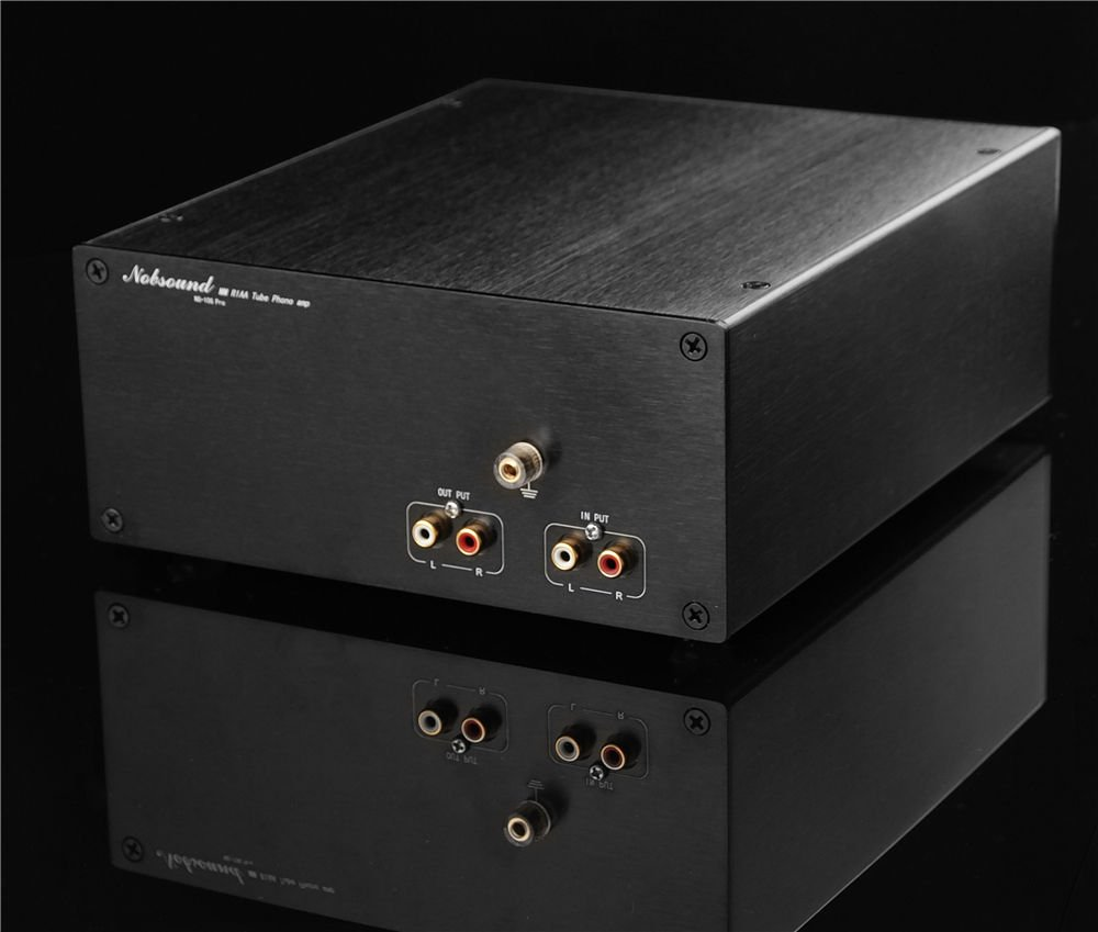 Nobsound 6N2 Vacuum Tube Phono Pre-Amplifier MM Turntables RIAA Stereo Preamp by Nobsound