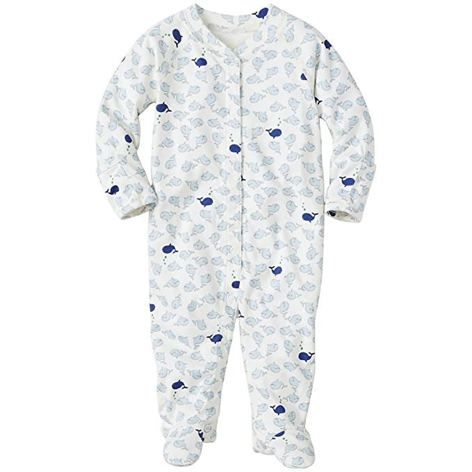 9dc005f1c507 Hanna Andersson Baby Baby Little Sleepers With Feet In Organic Pima ...