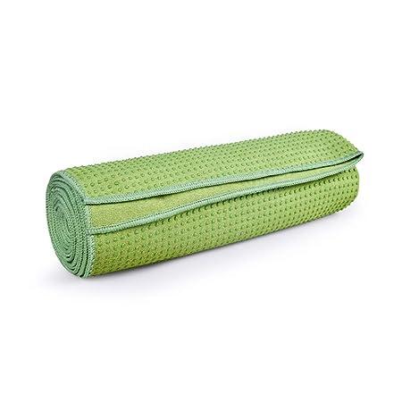 LLRDIAN Toalla de Tela de Yoga Antideslizante Absorbente de ...