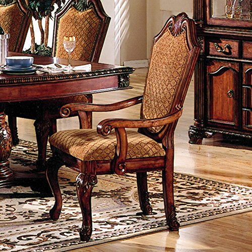 Acme Furniture Chateau De Ville Dining Arm Chair - Set of 2