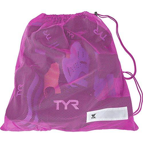 TYR Mesh Gear Doggy Bag, Pink