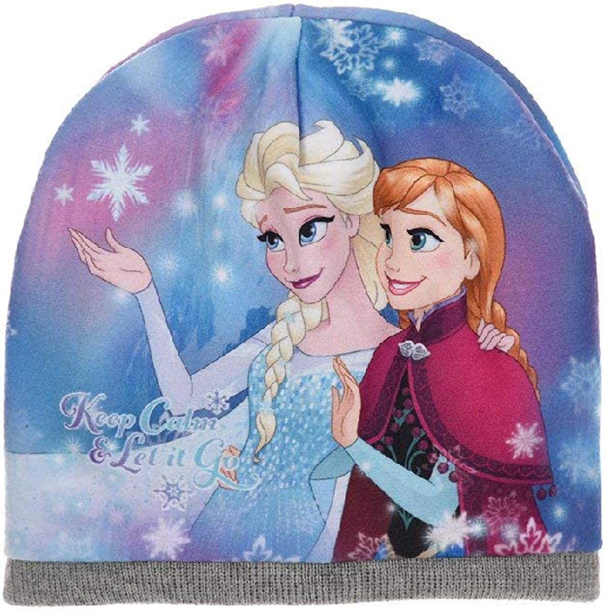 Disney Official Frozen Elsa /& Anna Knitted Hat or Hat /& Glove or Hat /& Scarf /& Glove Set