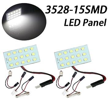 TABEN Pack de 2 bombillas LED de 3 generaciones, 1210, 15 ...