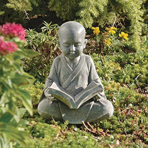 Asian Baby Buddha Meditation Statue Sculpture
