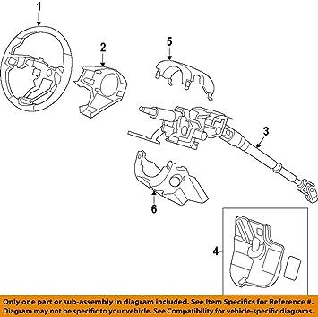Genuine Honda 78501-S9V-A81ZB Steering Wheel Body