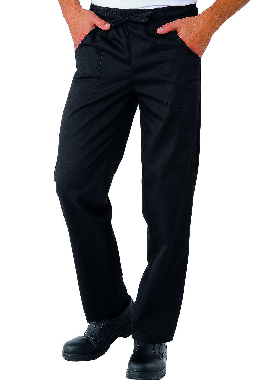 Isacco Pantalone con elastico nero XXL
