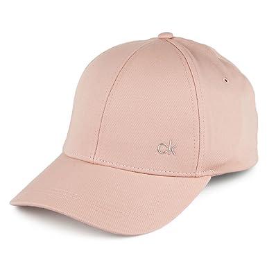 2817c7ec497 Calvin Klein Hats CK Metallic Baseball Cap - Nude Adjustable  Amazon.co.uk   Clothing