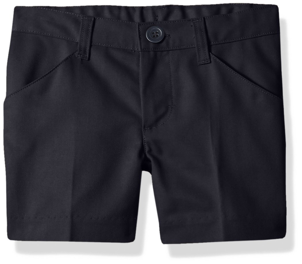 Classroom Uniforms Big Girls' Flat Front Low Rise Short, Dark Navy, 8 by Classroom Uniforms