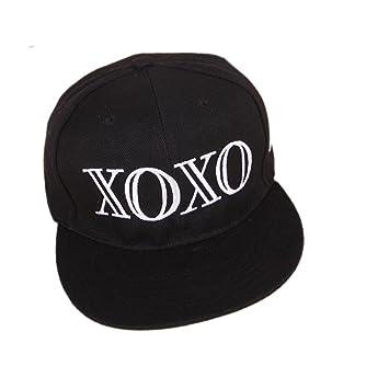 5acd53ab723 Kpop Exo Fan Caps Xoxo Snapback Accessories Kris Hats Wolf88 Black   Amazon.co.uk  Sports   Outdoors
