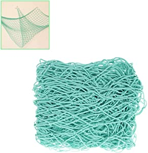 Blipala Fishing Net Decor,Fishing Net, Wall Hangings Decor,Nautical Style Photographing Decoration (Aqua)