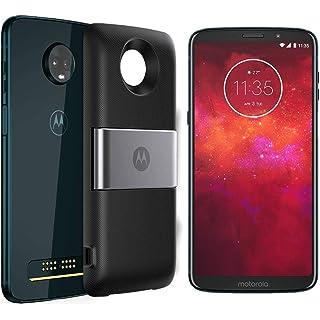 Celular Smartphone Motorola Moto Z3 Play Style Xt1929 64gb Azul - Dual Chip