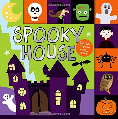 Lift-the-Flap Tab: Spooky House (Lift-the-Flap Tab Books) -