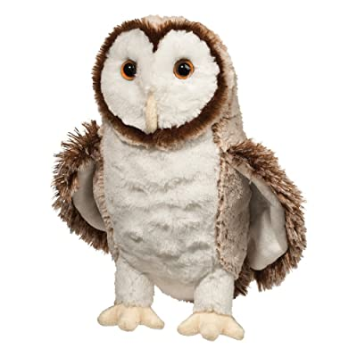Douglas Swoop Barn Owl Plush Stuffed Animal: Toys & Games