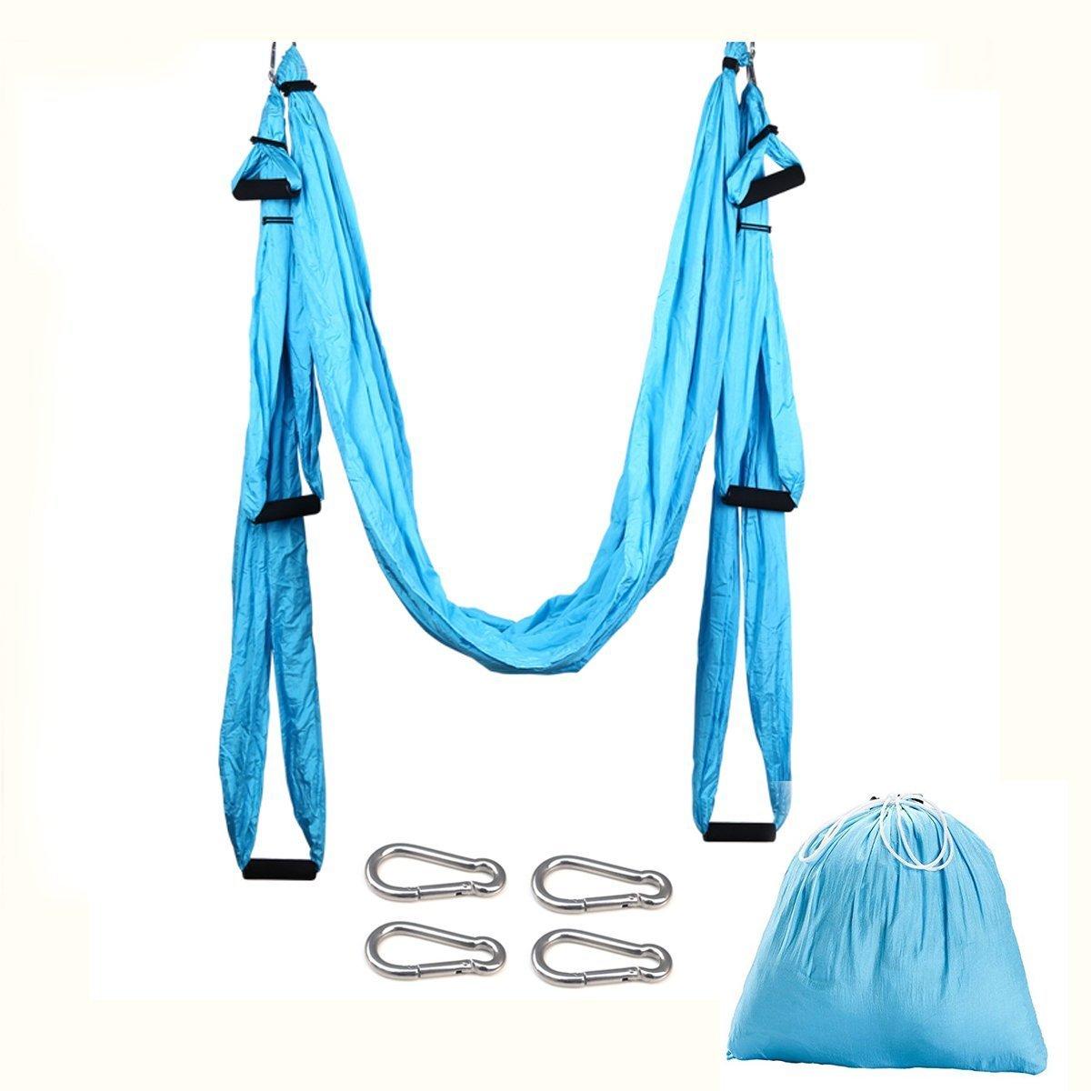 Budalga Yoga Swing Sling Trapeze Inversion Equipment Flying Yoga Hammock Anti-Gravity by Budalga (Image #2)