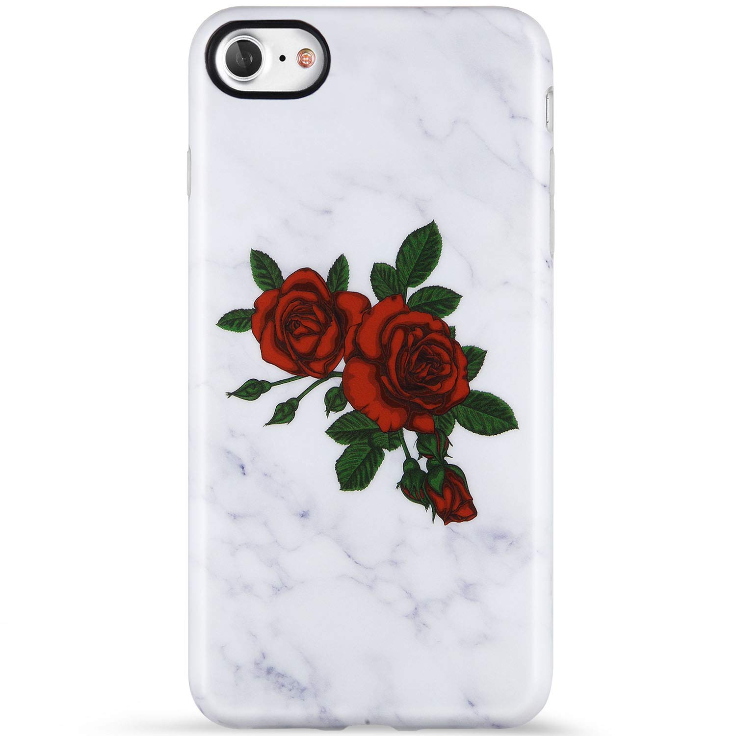 iphone 7 case red rose