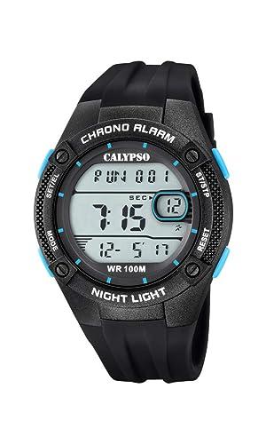 Calypso Watches Reloj Digital para Hombre de Cuarzo con Correa en Plástico K5765/1: Amazon.es: Relojes