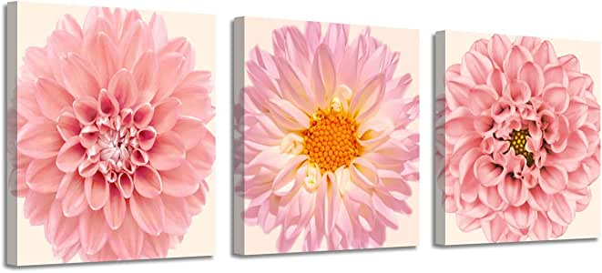 Flower Gerbera Buttercup Picture Wall Room Poster Canvas Print Home Decor Gifts