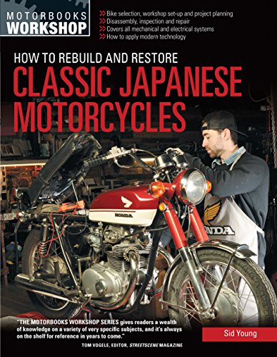 How to Rebuild and Restore Classic Japanese Motorcycles (Motorbooks Workshop)