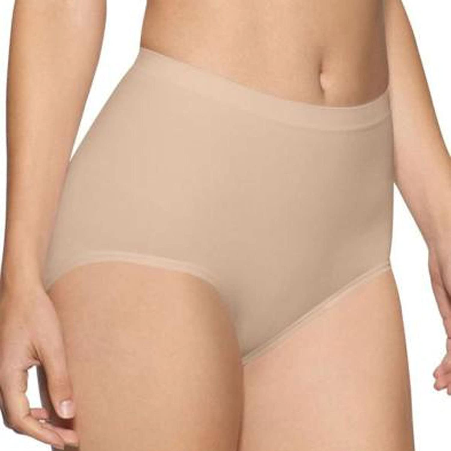 NEW WOMENS SEAMLESS BRIEFS CONTROL MAXI LADIES KNICKERS UNDERWEAR PLUS SIZE 8-30