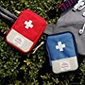 Portable Medical Bag, Lotus.flower Small Volume Emergency Survival Drug Storage First-Aid Kit Outdoor Treatment Home Rescue Packet Aid Outfit
