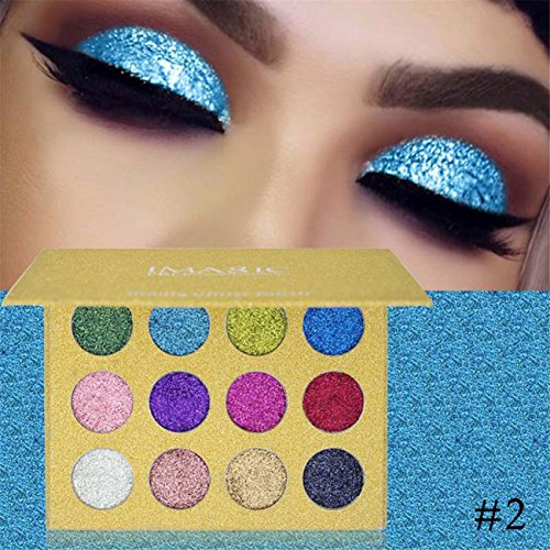Shimmer Glitter Eye Shadow Powder Palette Matte Eyeshadow Co