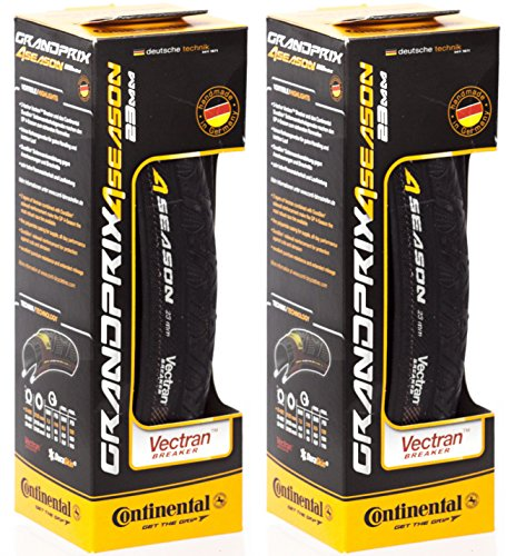 Continental 2 Pack Grand Prix 4 Season 700 x 23c Tire