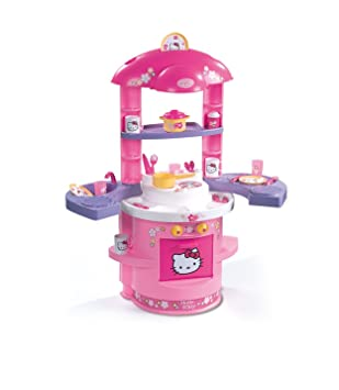Smoby 024470 - del contento e imitaciones - Cocina de Hello Kitty: Amazon.es: Juguetes y juegos