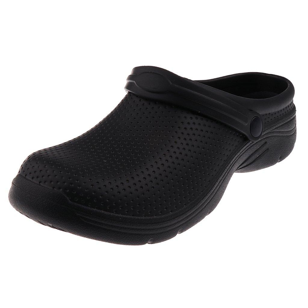 IPOTCH Zueco de Trabajo Antideslizante Unisex EVA Zapatos Sanitario Enfermera Sandalias para Playa Viaje