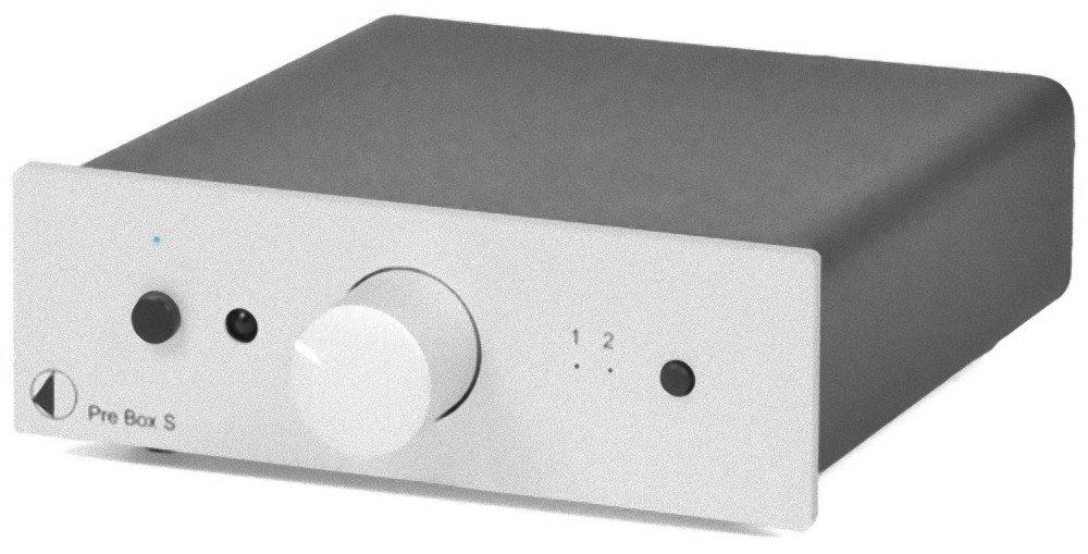 Pro-Ject Pre Box S Audiophile PreAmplifier,Silver