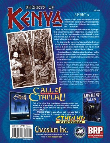 Secrets of Kenya: The Mythos Roams Wild (Call of Cthulhu)