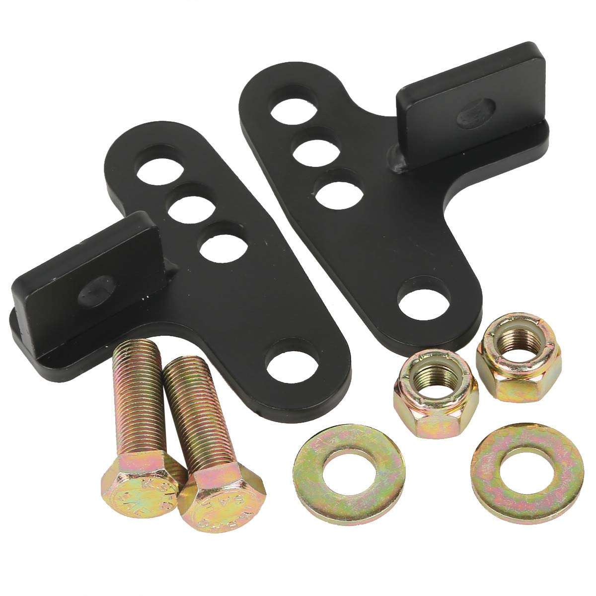 Black Rear Adjustable 1 To 3 Lowering Kit Fits For Harley Davidson Sportster 883 1200 1989 1990 1991 1992 1993 1994 1995 1996 1997 1998 1999