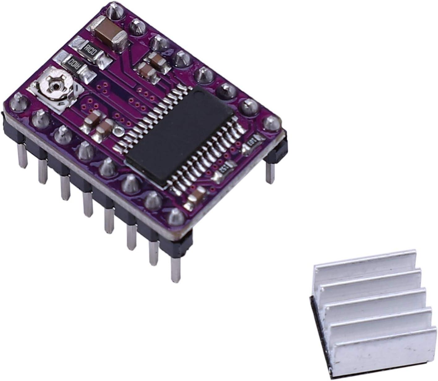 Semoic 10Pcs Stepstick Drv8825 Stepper Motor Driver 4 PCB Board Replace A4988 3D Printer Parts for SKR V1.3 PRO MKS GEN