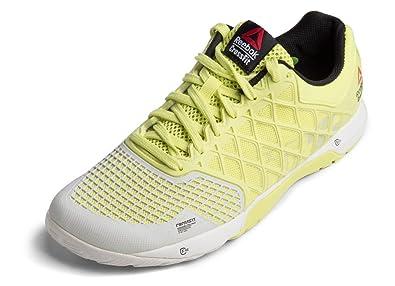 12157dc1104 Reebok Women s Crossfit Nano 4.0 Training Shoe High Vis Green Black Chalk 10  B