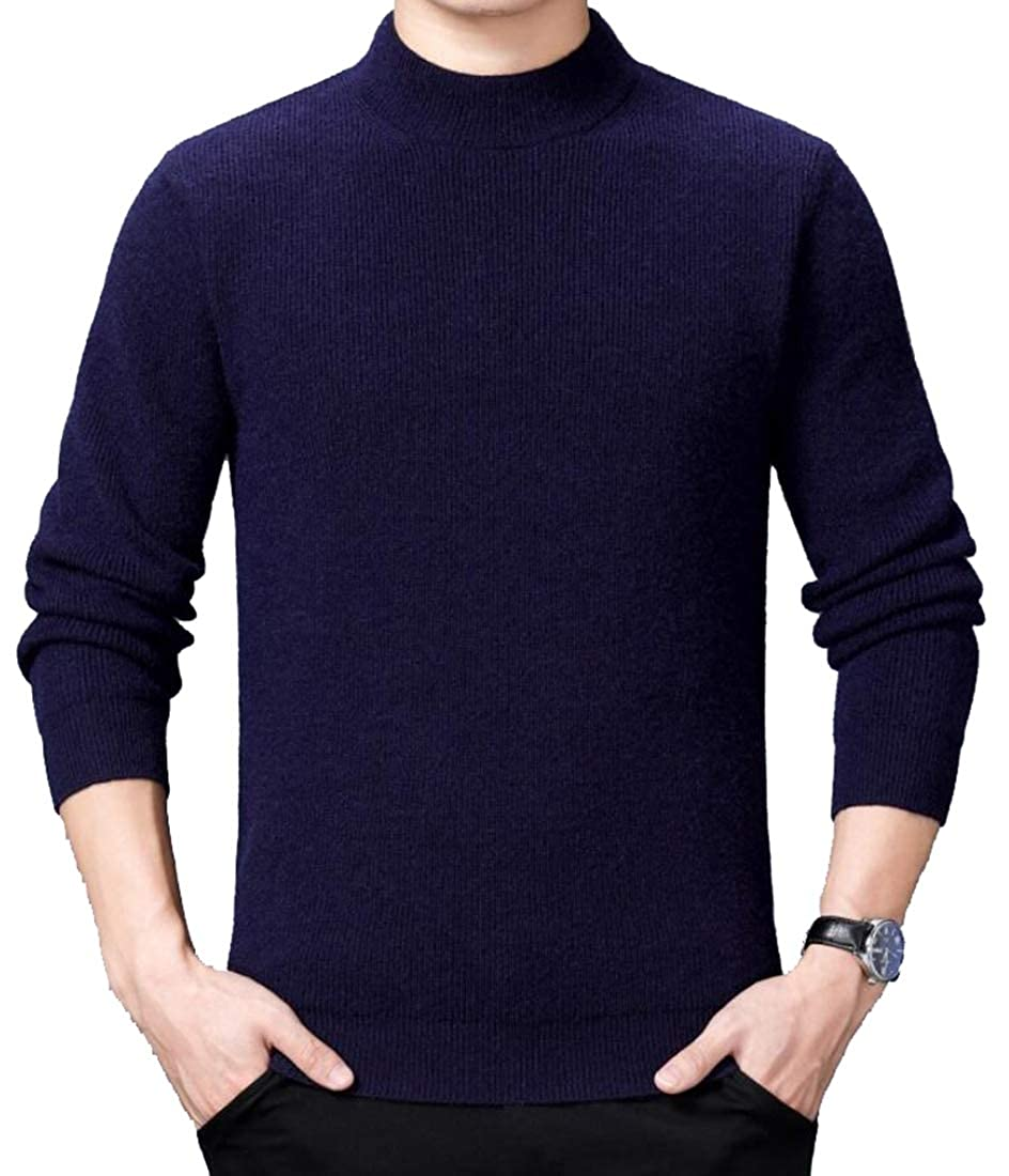 GenericMen Perfect Slim Fit Lightweight Soft Fitted V-Neck Pullover Sweaters