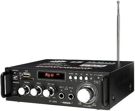 600W Digital HiFi bluetooth Audio Stereo Amplifier Amp USB//FM//SD//Mic Home /& Car