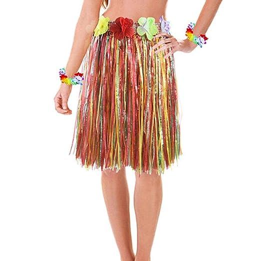 COMVIP Conjunto de Disfraz de Guirnalda Hawaiana y Disfraz de ...